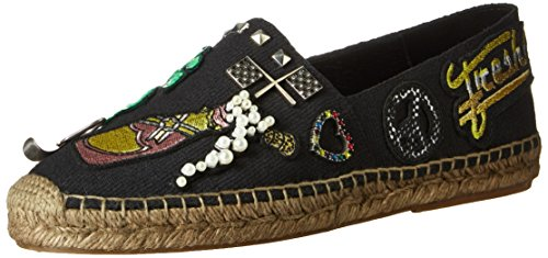 Marc Jacobs Women's Sienna Flat Espadrille Slipper, Black Multi, 39 EU/9 M US by Marc Jacobs