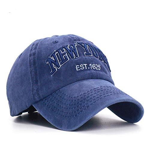 Fashion Cotton Baseball Cap Mens Snapback Hats for Women Hip Hop Gorras Bone Embroidered New York Caps Black at Amazon Mens Clothing store: