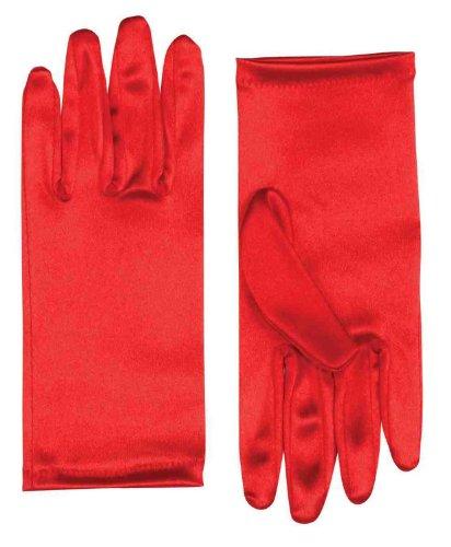 Satin Adult Female Costume Gloves