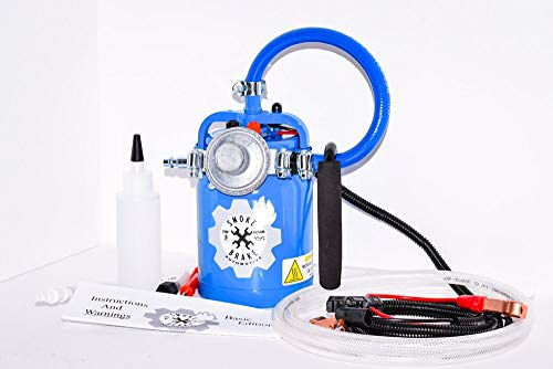 Automotive Smoke Machine for Vacuum and Evap Leaks. Mechanic Diagnostic Machine. Blue