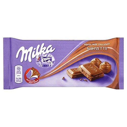 Milka Noisette Hazelnut Milk Chocolate (11 Noisette)