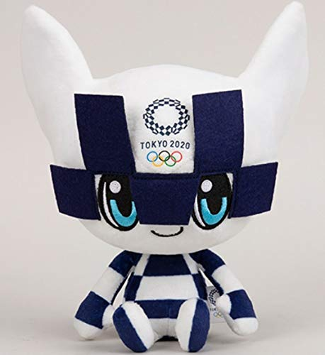- Tokyo 2020 Olympics Mascot Plush Toy Official Goods (M) Mightightowa