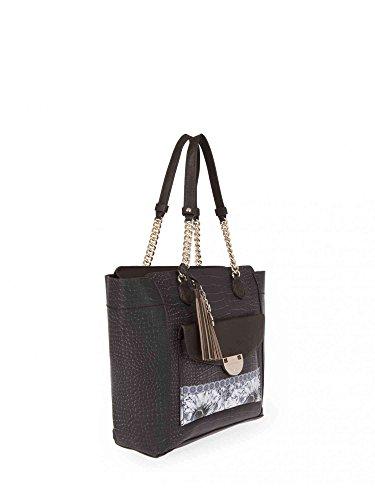 L'atelier du sac 5675 Bolso gran Accesorios Negro