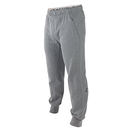 イーストンBoys m10 Tech Fleece Jogger Pants B01KC0TYO0アスレチックヘザー L