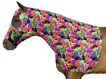 Sleazy Sleepwear Lycra Hood With Zipper - Fun Prints