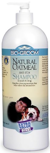 BIO-GROOM Natural Oatmeal Soothing Dog Shampoo (32 oz.), My Pet Supplies