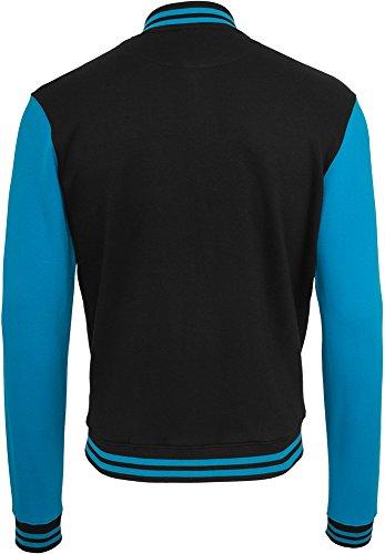 Classics Sweatjacket Black Uomo Felpa Tone turchese Bekleidung 2 College Urban Pq1nZOdwUw