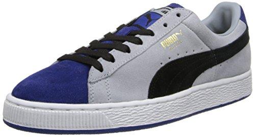 Puma Heren Suede Strepen En Blokken Klassieke Sneaker Limoges / Zwart / Team Goud