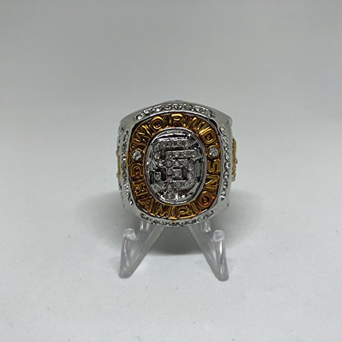 2010 Buster Posey San Francisco Giants High Quality Replica 2010 World Series Championship Ring Size 11.5-Silver Color US SHIPPING