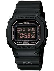 Casio Mens DW5600MS-1CR G-Force Military Concept Black Digital Watch