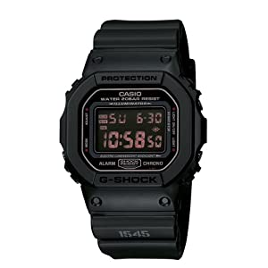 410v8OMxk0L. SS300  - Casio Men's DW5600MS-1CR G-Force Military Concept Black Digital Watch