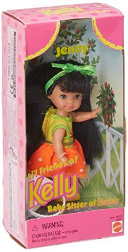 Kelly Club Friend Jenny with Rare Orange Dress and Basket (1997)