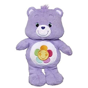 Amazoncom Care Bears  DARK PURPLE FLOWER  A1577  HARMONY BEAR