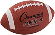 Champion Sports Pee Wee Size Rubber Footballs