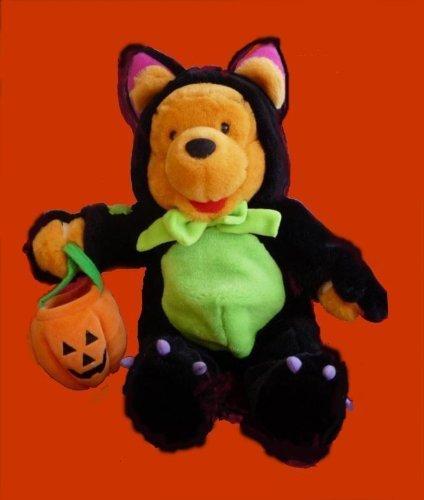 Winnie Pooh Plush Halloween Scaredy Cat Costume Plush by (Peppermint Patty Costumes)