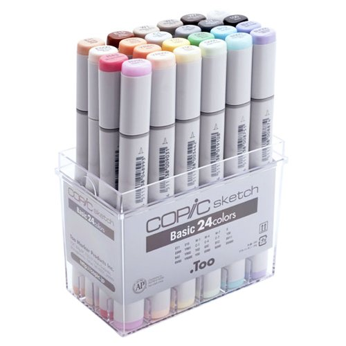 Copic Sketch Marker Set 24 Basic - Japan Exclusive Release! by Copic