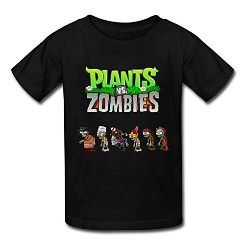 Flycro-Kids-Cool-Plants-Vs-Zombies-T-shirts