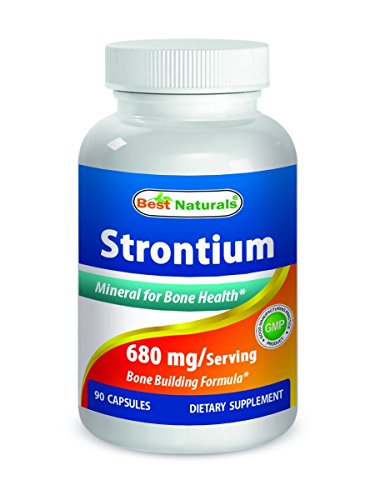 (Best Naturals Strontium Bone Building Formula 680mg/serving 90 Capsules)