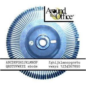 Rueda para Royal scriptor máquina de escribir 10 de mensajería electrónica de margarita por alrededor de la oficina: Amazon.es: Amazon.es