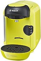 Bosch TASSIMO Vivy TAS1256 - Cafetera multibebidas automática de cápsulas, diseño compacto, color verde lima