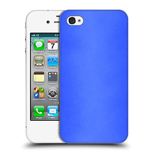 Official Beli Blue Morocco Textures Hard Back Case Compatible for iPhone 4 / iPhone 4S (Iphone Bmo Case 4s)