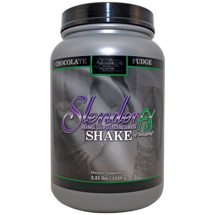 Slender fx Meal Replacement Shake Chocolate Fudge, 2.25 lbs/1020 g