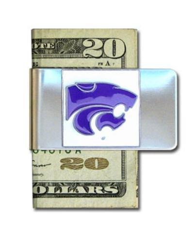 NCAA Kansas State Wildcats Steel Money Clip