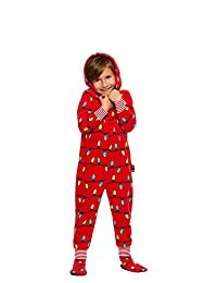 Family Holiday Merry Litmas Matching Pajamas | Toddlers Onesie Size 2T