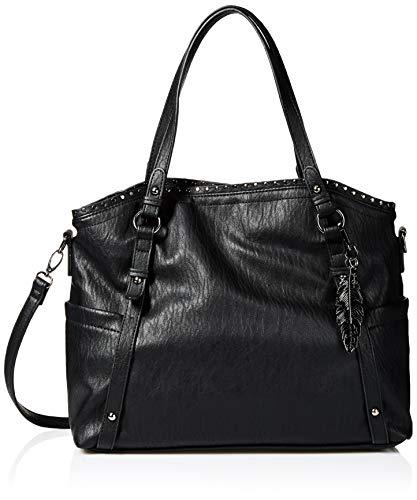 Jessica Simpson Misha East/WEST Crossbody Tote, Black (Jessica Simpson Handbags Black)
