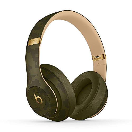 Beats Studio3 Wireless Noise Cancelling Over-Ear Headphones – Camo Collection – Forest Green