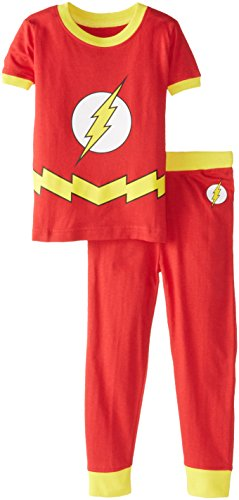 DC Comics Infant 'Flash Logo' Cotton Costume Pajama