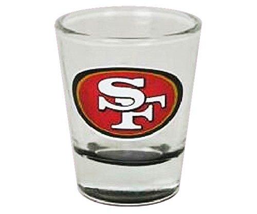 (The Memory Company San Francisco 49ers Highlight Bottom Shot Glass)