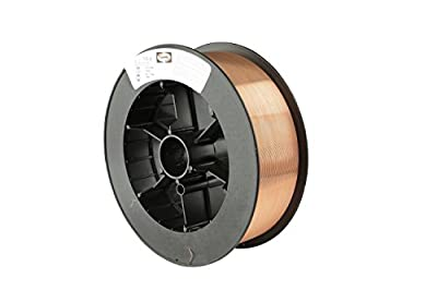 Harris E70S6E5 ER70S-6 MS Spool with Welding Wire, 0.030 lb. x 11 lb.