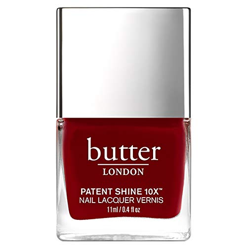butter LONDON Patent Shine 10X Nail Lacquer, Regal Red