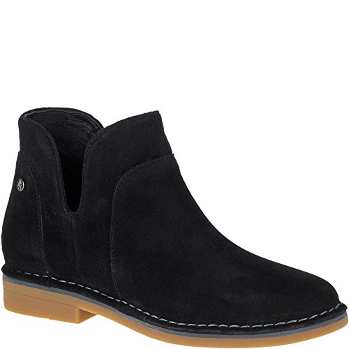 Hush Puppies Womens Claudia Catelyn Boot Nero In Pelle Scamosciata