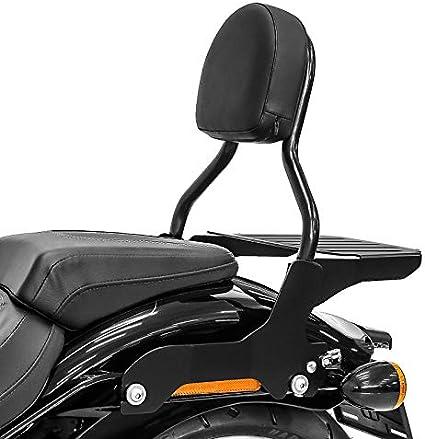 Sissy Bar Cl Mit Gepäckträger Für Harley Davidson Breakout 18 19 Schwarz Auto