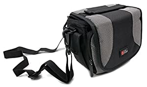 Lightweight & Ultra-Portable Carry Case with Padded Interior and Shoulder Strap - Compatible with the PowerLead Afun PAC002 | Afun PAC003 | Caue PC6 Action Camera / Camcorder - by DURAGADGET