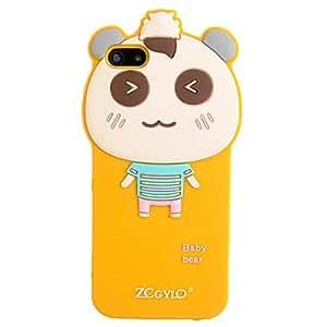 conseguir Pequeño oso del silicio para el iPhone 5/5S (colores surtidos) , Rosa