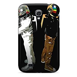 Hot Fashion Arf364uGlI Design Case Cover For Galaxy S4 Protective Case (daft Punk)