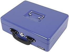 HMF 10026-05 Caja de caudales, caja de dinero con bandeja de ...