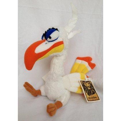 Disney Broadway Musical Lion King Zazu Plush Bird (Zazu Lion King)
