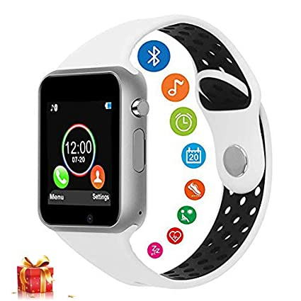 Smart Watches for Android Phones, DOROIM Bluetooth Fitness Tracker Sport SmartWatch Touch Screen Smart Watch with SIM/TF Card Slot for Men Women ...