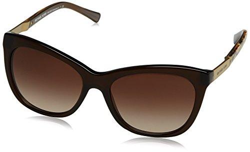 Michael Kors ADELAIDE II MK2020 Sunglasses 311613-56 - Dk Brown Tigers Eye Frame, MK2020-311613-56 (Michael Kors Wayfarer)