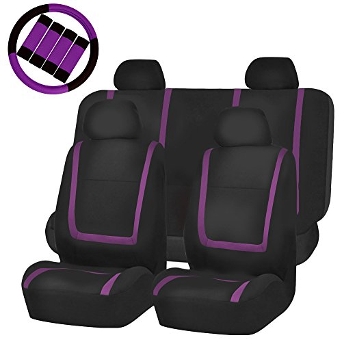 bench seat cover purple - 4