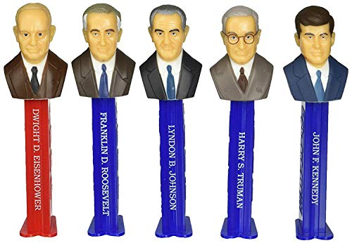 PEZ Candy Presidents of The United States Dispensers: Volume 7 - 1933-1969