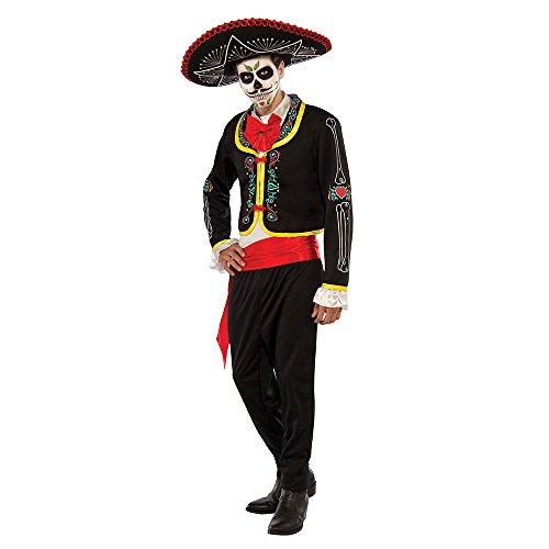 Rubie's Day Of The Dead Senior Costume, Standard