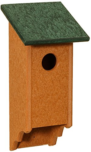 - Classic Amish Bluebird House, Easy to Clean, Handcrafted in the USA from Eco-friendly Recycled Plastic with Stainless Steel Fasteners