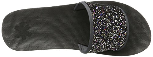 Gris Steel flip Glitter Sandales Poolwedge flop Multi Femme 9760 Plateforme x788FYwvZq