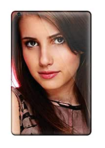High Impact Dirt/shock Proof Case Cover For Ipad Mini/mini 2 (emma Roberts?wallpaper )