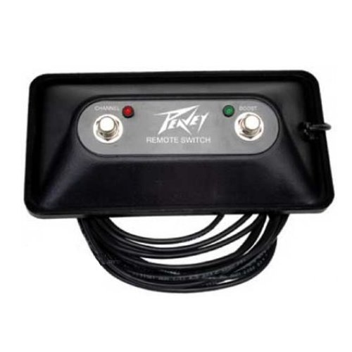Peavey Valveking Guitar Amplifier - Peavey Two Button Valveking Windsor Footswitch with 15' Cable
